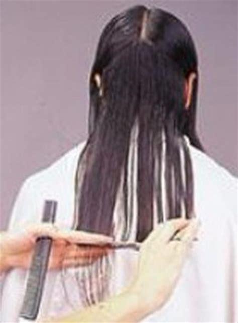 corte de pelo puntas dama