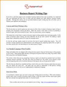 Sle Of Report Writing by Doc 8531070 Writing Business Reports Bizdoska Com
