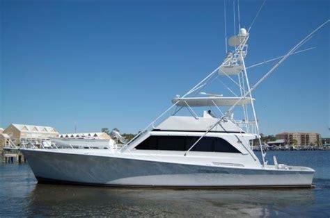 Ocean Fishing Boat Types by 1988 Ocean Yachts 63 Sport Fish Power Boat For Sale Www