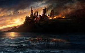 Harry Potter and the Deathly Hallows - Hogwarts Castle ...