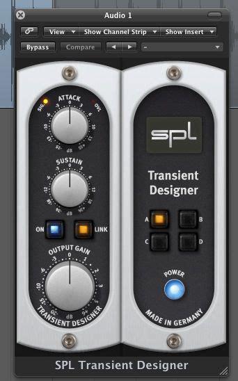 spl transient designer how to use sound performance lab s transient designer