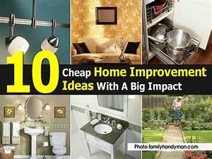 10 Cheap Home Improvement Ideas With A Big Impact