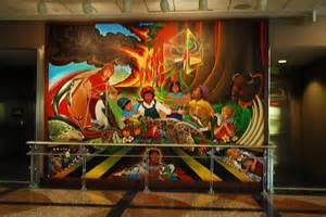 denver international colorado airport murals flickr photo