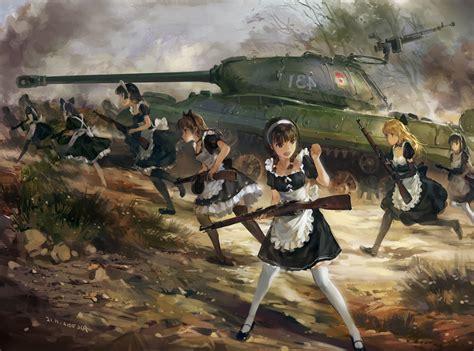 wallpaper  px anime fantasy art french maid