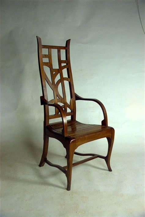 crafted custom modern mackintosh inspired great chair