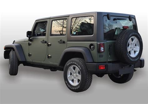 jeep wrangler military green army green jeep wrangler car interior design
