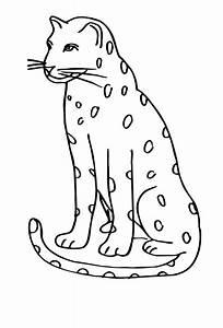 Bilder Zum Ausmalen Leopard Ausmalbild Leopard Ausmalbilder F R