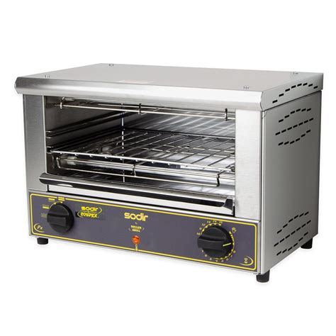 toaster oven commercial equipex bar 100 1 countertop commercial toaster oven 120v