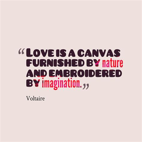 Picture Voltaire Quote About Love Quotescovercom