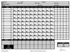 printable softball scorecards softball score sheet