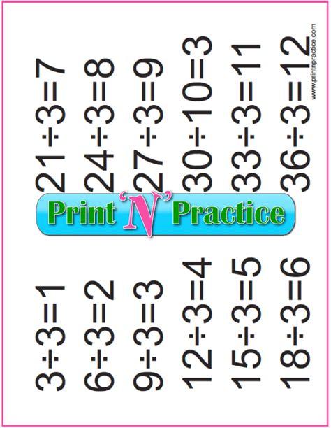 printable division table chart    table bar chart