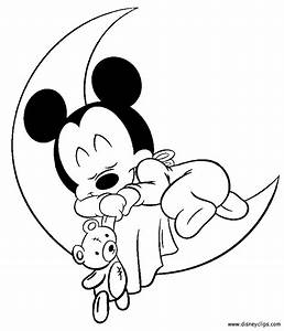 Baby Mickey Coloring Pages Coloring Home