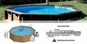 Piscine Bois Ronde : piscine bois sunbay mod le violette 5 11 x 1 24 m filtration ~ Farleysfitness.com Idées de Décoration