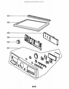 Parts For Lg Dlgx2902v  Control Panel    Plate Parts