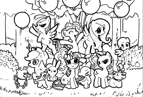Pony Coloring Free Pages On Art