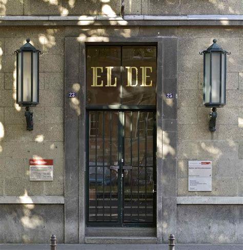 Nsdokumentationszentrum Köln Eldehaus
