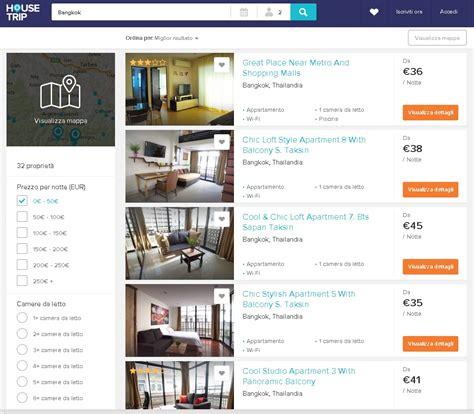 siti per affitto vacanze siti come airbnb per mettere in affitto il proprio