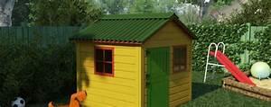 Maison Enfant Jardin : une mini maison dans votre jardin pour le bonheur de vos enfants ~ Preciouscoupons.com Idées de Décoration
