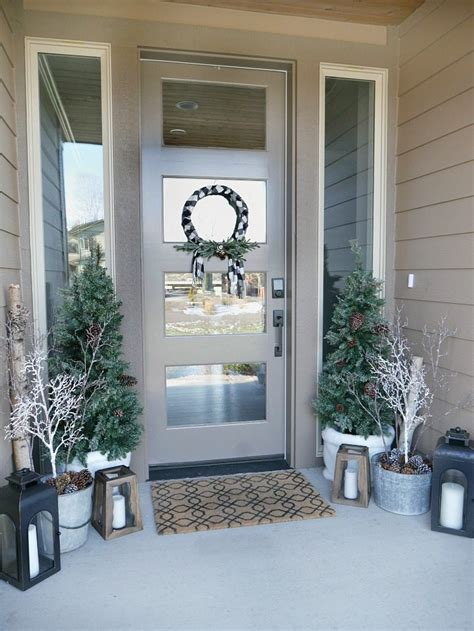 Outdoor Christmas Decorating Ideas Front Porch by Winter Porch Decor Taryn Whiteaker
