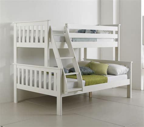 bunk beds with mattress bluemoon beds 4ft atlantis sleeper bunk bed solid