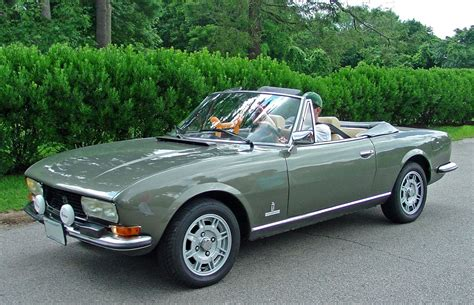 Peugeot 504 Cabriolet by Peugeot 504 Cabriolet Car For Sale Today