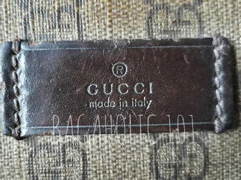 ultimate real  fake gucci bag guide gucci bag exterior details bagaholic