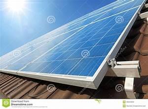 Solar Auf Dem Dach : sonnenkollektoren auf dem dach stockbild bild von tageslicht modern 48544659 ~ Heinz-duthel.com Haus und Dekorationen