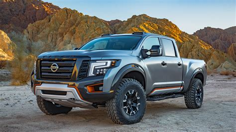 nissan titan warrior concept wallpapers hd images
