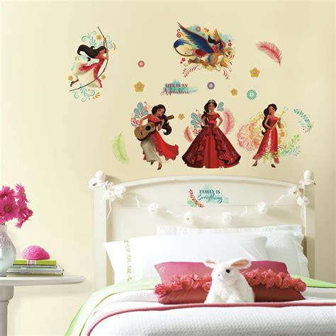 bedroom wall stickers roommates welcomes elena of avalor wall decals roommates 10749   princess elena of avalor wall decals for girls bedroom 2