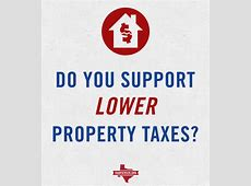 Poll Do you support lower property taxes? Dan Patrick