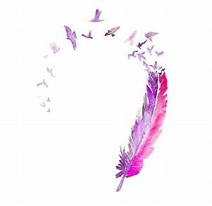 33+ Watercolor Feather Tattoos