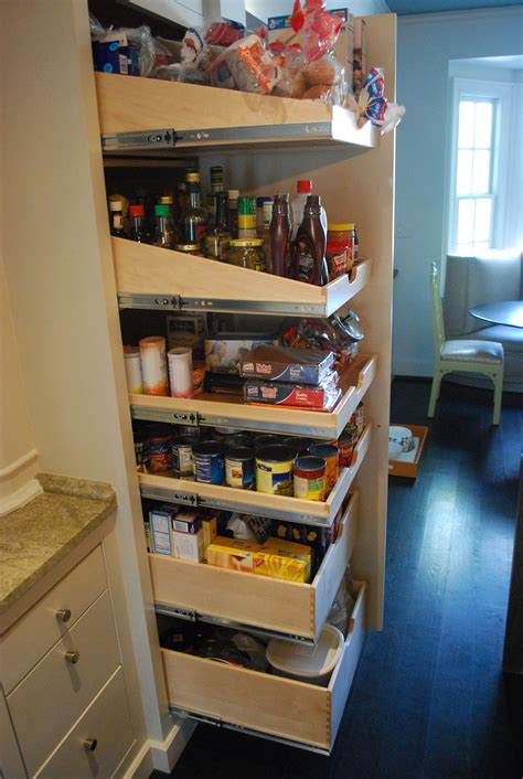 Building The Perfect Pantry Slopedpulloutshelves On