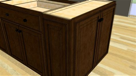 diy kitchen island from stock cabinets kitchen design tip designing an island with wall cabinet