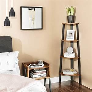 New, 4, Tier, Corner, Shelf, Bookshelf, Wood, Cs04, U2013, Uncle, Wiener, U0026, 39, S, Wholesale
