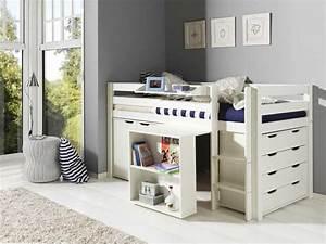 Piraten Kinderzimmer Gestalten : hochbett mit schreibtisch und schrank komplett mit 4 ~ Michelbontemps.com Haus und Dekorationen