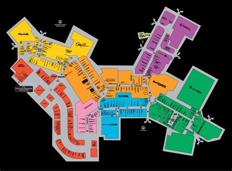 mall map  sawgrass mills  simon mall sunrise fl