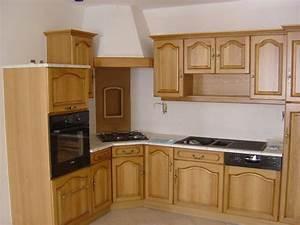 cuisine en bois massif moderne le bois chez vous With cuisine equipee en bois