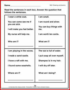Drawing Conclusions Worksheets 1st Grade - resultinfos