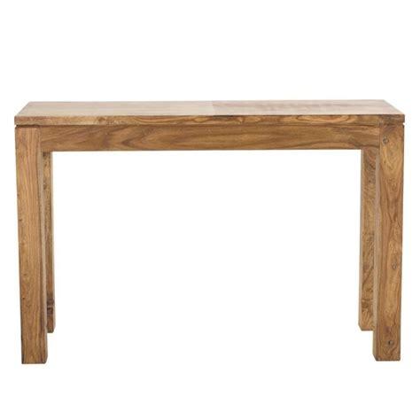 console maison du monde table console en bois de sheesham massif l 120 cm