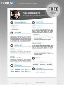 modern resume format 2015 download hongdae modern resume template