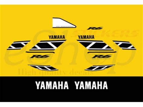 yzf    anniversary set eshop stickers
