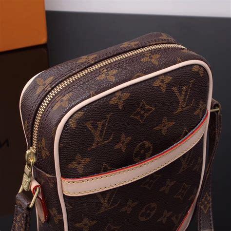 replica lv louis vuitton monogram small shoulder bag  handbag brown lv