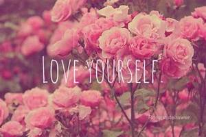 love yourself quotes on Tumblr