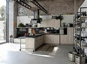 Cuisine Style Industriel Vintage : cuisine style industriel une beaut authentique ~ Teatrodelosmanantiales.com Idées de Décoration