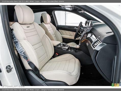First spot ever of this car. designo Porcelain/Black Interior Photo for the 2018 ...