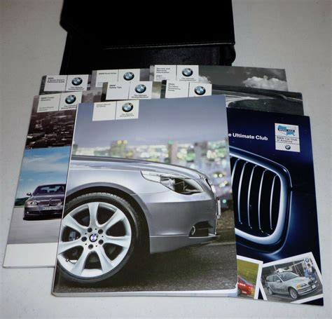 auto repair manual online 2007 bmw 5 series transmission control 2007 bmw 5 series 525i 530i 550i owners manual set 07 525 530 550 i guide case ebay