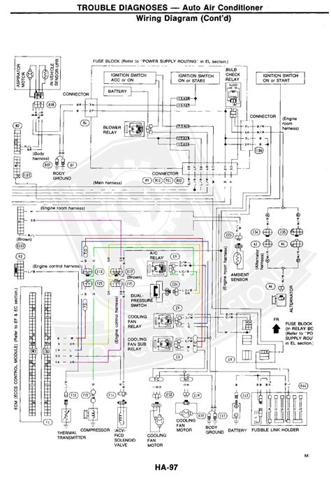 300zx Turn Light Wiring Diagram by Wiring The Ac In A 300zx Engine Conversion Loj Conversions