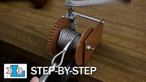 Installing Cable On Worm Gear Winches - Step-by-step