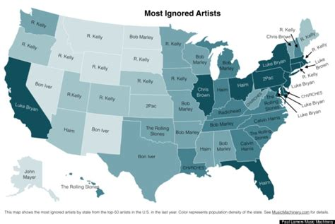 these are your state s least favorite artists huffpost