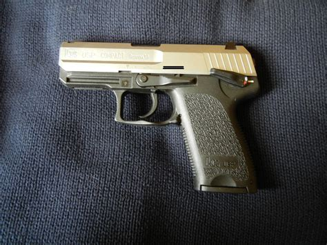 hk usp compact stainless  mm   sale